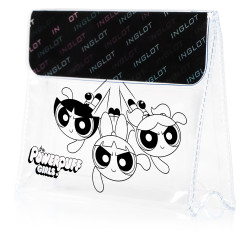 The Powerpuff Girls Makeup Bag Sugar Spice and Everything Nice