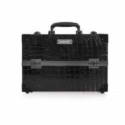 Makeup Case Crocodile Leather Pattern Medium (KC-PAC01)