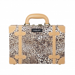 Makeup Case Leopard Leather Pattern Mini (KC-AC11)