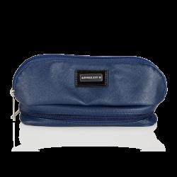 Kosmetikaväska, Mörkblå med Spegel (R23388)