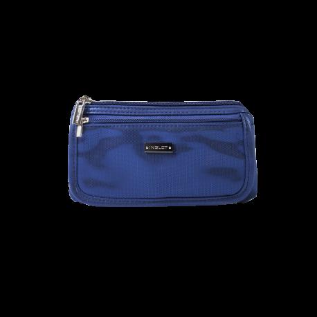 Cosmetic Bag Blue & Silver (R23676B)