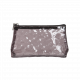 Brown Transparent Makeup Bag (R23973C)