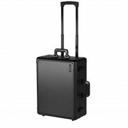 Makeup Suitcase with Wheels Black (KC-58ML)