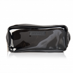 Cosmetic Bag Transparent Black XL (R23700)