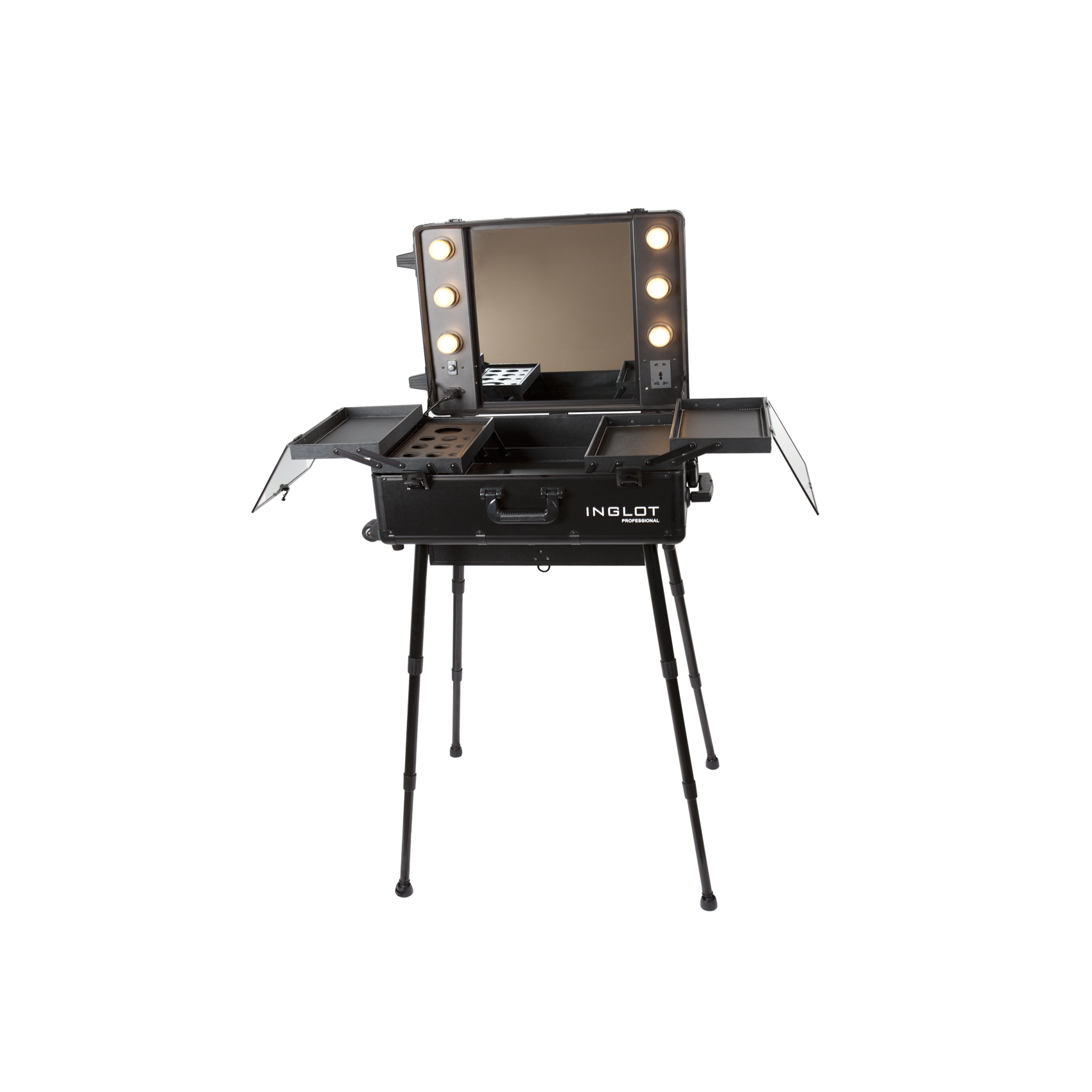 ... Lighted Makeup Station With Telescopic Legs ...