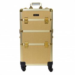 Makeup Case Gold (KC-TR002)