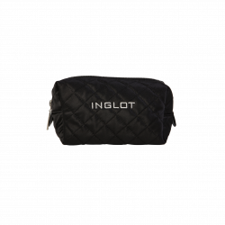 Quilted Makeup Case Black (R23983B)