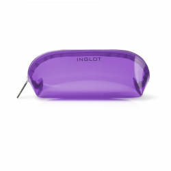 Cosmetic Bag Transparent Violett