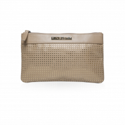 Cosmetic Bag Beige & Gold