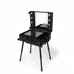Portable Makeup Station (KC-210 BLACK)