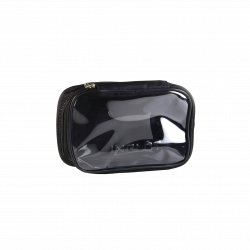 Travel Makeup Bag Black Small icon