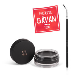 Eyeliner Gel J511 Midnight + Makeup Brush 30T