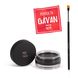 Eyeliner Gel J511 Midnight + Makeup Brush 31T